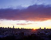 Midtown skyline, Manhattan, New York, From hoboken, New jersey, USA