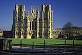 Wells cathedral, Somerset, England, U.k