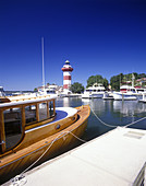 Harbor town, Hilton head island, South carolina, USA.