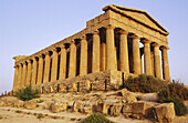 Concordia Temple, built in 430 B.C. Valley of Temples. Agrigento. Sicily. Italy