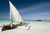 Kiwengwa beach. Zanzibar Island. Tanzania