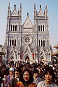Catholic cathedral, Beijing. China.