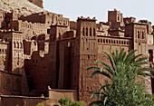 Kasbah of Aït Benhaddou in Ouarzazate. Morocco