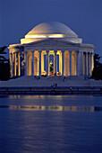 Thomas Jefferson Memorial. Washington D.C. USA