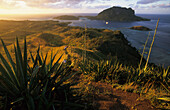 view from Yasawa Island over Blue Lagoon to Sawa-i-Lau, Yasawa group, Fiji, South Sea