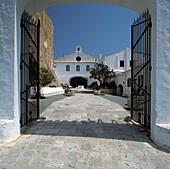 Santuari de la Mare de Déu del Toro. Es Mercadal. Minorca. Balearic Islands. Spain