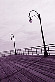 Balconies, Balcony, Calm, Calmness, Cities, City, Color, Colour, Concept, Concepts, Daytime, Exterior, Infinite, Infinity, Monochromatic, Monochrome, Nobody, Outdoor, Outdoors, Outside, Peaceful, Peacefulness, Purple, Purple tone, Quiet, Quietness, Sea,