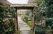 Zen Temple. Kyoto. Japan