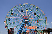 The Wonder Wheel. Coney Island, New York. USA