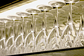 Alike, Bar, Bars, Clean, Close up, Close-up, Closeup, Color, Colour, Concept, Concepts, Detail, Details, Glass, Glasses, Glassware, Horizontal, Indoor, Indoors, Inside, Interior, Many, Parties, Party, Ready, Repetitive, Restaurant, Row, Same, Sameness, S