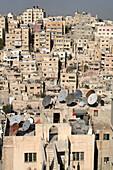 Typical clay dwelling in Amman City, Jabal Al-Qal ah Ru, Jordan
