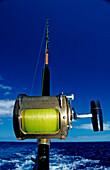 Big Game Fishing Rod,  Bahamas, Atlantic Ocean