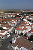 View on Beja from the keep of castle. Portugal