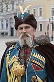 Ukranian cossack in traditional costume, Odessa. Ukraine