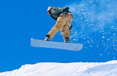 Snowboarding, Mt. Hood. Oregon. USA