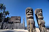 Honaunau National Historic Park (aka City of Refuge or puuhonua ). Hawaii. USA
