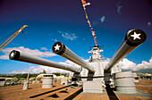 Battleship Missouri Memorial. Pearl Harbour. Hawaii. USA