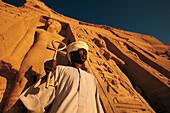 Temple of Hator. Abu Simbel. Egypt