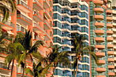 Hotels and apartments. Acapulco. Mexico