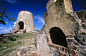 America, Annaberg Sugar Mill Ruins, Bay, Bays, Color, Colour, Daytime, Exterior, Horizontal, Island, Islands, Leinster, National Park, National Parks, Outdoor, Outdoors, Outside, Ruins, Saint John, St John, U S Virgin Islands, United States, USA, West In