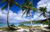 Magens Bay in Saint Thomas Island. U.S. Virgin Islands
