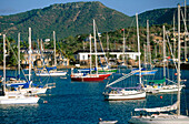Yachts. Dockyard. Historic Nelson s Dockyard. Antigua. Antigua and Barbuda. West Indies. Caribbean