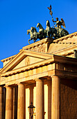 Brandenburg Gate. Berlin. Germany