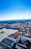 Bohemia, Ceske Budejovice, Ceské Budejovice, Cities, City, Cityscape, Cityscapes, Color, Colour, Czech Republic, Daytime, Europe, Exterior, Old Town, Outdoor, Outdoors, Outside, Square, Squares, Travel, Travels, Urban landscape, Urban landscapes, Vertica