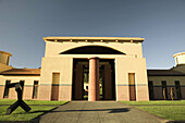 Clos Pegase Winery (designed by Michael Graves). Napa Valley. California, USA