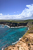 French West Indies (FWI), Guadeloupe, Grande Terre Island, Pointe de la Grande Vigie: Coastal Views of Northern Grande