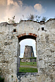 French West Indies (FWI), Guadeloupe, Marie-Galante Island, Grand-Bourg Area: Habitation Roussel, Ruins of Old Sugar Plantation