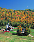 Farm in the Northeast Kingdom area, West Barnet, Vermont, USA