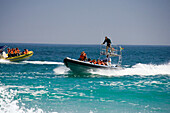 Water sports at Sandy Bay, Cape Town, South Africa, Africa, mr
