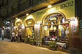 spain,Barcelona,typical Tapa bar Restaurant American soda near Ramblas