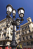 Barcelona,Las Ramblas,Laterne