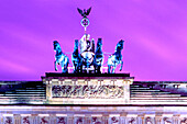 Berlin , Brandenburg gate,  Brandenburger Tor , Quadriga