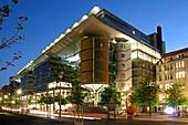 Berlin Potsdamer Platz, office buidlings by architect Richard Rogers