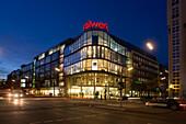 Berlin city West Kant street Design warehouse Stilwerk