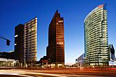 Berlin , Potsdamer Platz, Sony Center DB tower