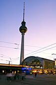 Berlin railway station Alexanderplatz , Alex