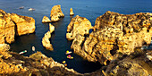 Portugal Ponta da Piedade , Atlantik Kueste Felsen
