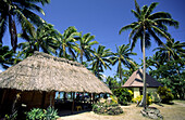 South pacific, Cook Islands, Aitutak , Holiday resort