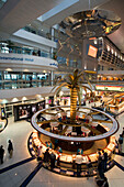Dubai International Airport Dubai United Arab Emirates ,Sheikh Rashid Terminal ,duty free shopping zone , Gold shop