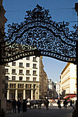Vienna Hofburg wrought iron gate fiaker