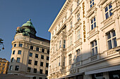 Vienna Austria Cafe Mozart Hotel Sacher facade