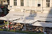 Vienna Austria Cafe Mozart