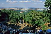 open air mountain theatre, near Thale Harz Mountains, Saxony Anhalt, Germany