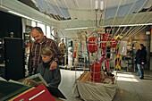 Border Museum, Grenzland Museum, original escape balloon,Tettenborn, Saxony Anhalt, Harz mountains, Germany