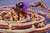 Lion dance. Taipei. Taiwan