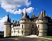 Castle. Chaumont-sur-Loire. Loire. France